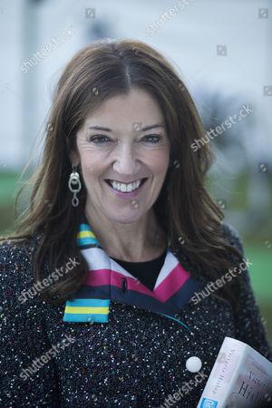 Victoria Hislop at the Cheltenham Literature Festival.