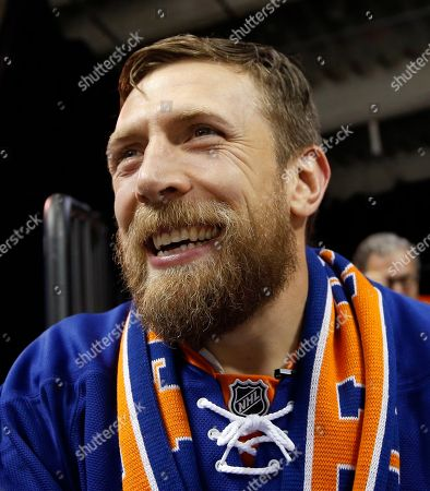 Brian Lloyd Danielson Retired Amrican professional wrestler Brian Lloyd Danielson, whose WWE ring name is Daniel Bryan, smiles as he watches the second period of an NHL hockey game between the New York Islanders and the Anaheim Ducks, in New York
