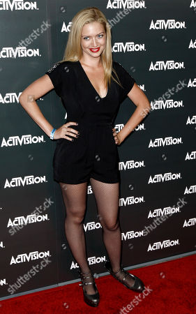 Lauren Storm Lauren Storm arrives at the Activision E3 2010 Preview event in Los Angeles on