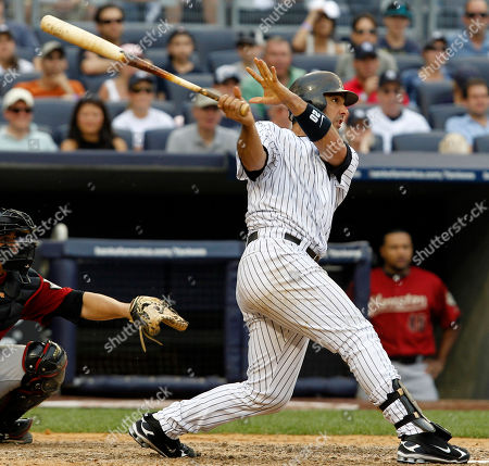 Jorge Posada New York Yankees' Jorge Posada watches his fifth-inning grand slam off Houston Astros reliever Casey Daigle in a baseball game at Yankee Stadium in New York