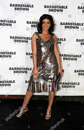 Allison Baver Allison Baver arrives at the Barnstable Brown Derby party in Louisville, Ky., . The 136th Kentucky Derby horse race will be held Saturday, May 1