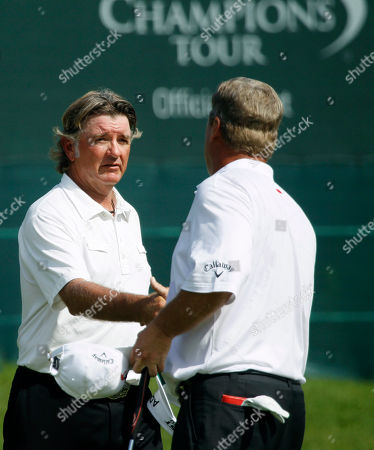 Tommy Armour III, Hal Sutton Tommy Armour III, left, is greeted by Hal Sutton on the 18th green after they finished their first round in the Champions Tour's Principal Charity Classic golf tournament, in West Des Moines, Iowa