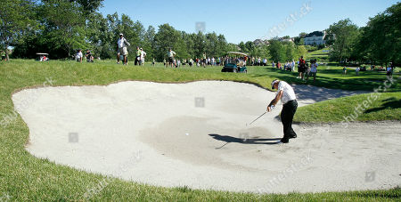 Editorial photo of Champions Tour Golf, West Des Moines, USA