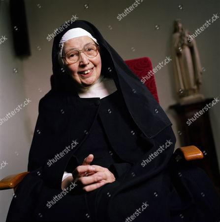 Sister Wendy Beckett, Quidenham Carmelite Monastery, Suffolk - 2006