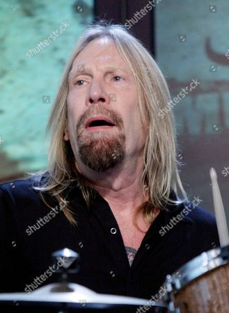 """Matt Abts Matt Abts, of the group Gov't Mule performs on the """"Imus in the Morning"""" program on the Fox Business Network, in New York"""