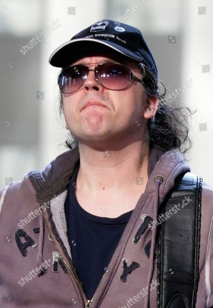 """Stock Picture of Jorgen Carlsson Jorgen Carlsson, of the group Gov't Mule, during the band's appearance on the """"Imus in the Morning"""" program on the Fox Business Network, in New York"""