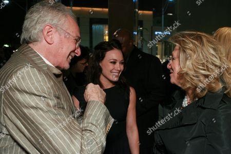 David Yurman, Hilary Duff and Sybil Yurman