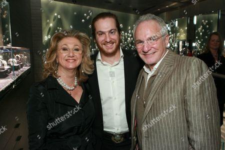 Sybil Yurman , Evan Yurman and David Yurman