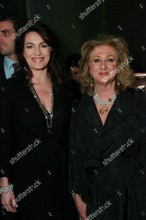 Cynthia Sikes Yorkin and Sybil Yurman