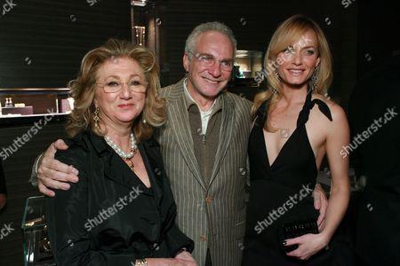 Sybil Yurman , David Yurman and Amber Valletta