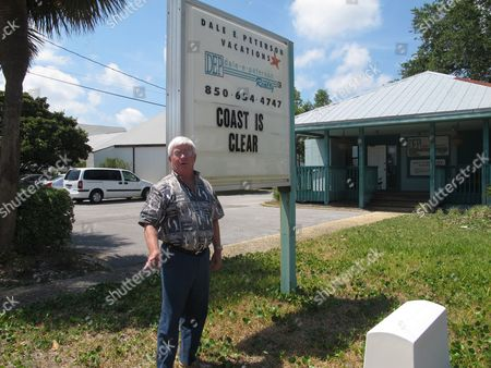 Real estate agents say beachfront property sales have come to a stop since the Deepwater Horizon oil spill began. Dan Peterson stands in front of his real estate agency and discuss the problem on in Destin, Fla