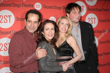 Editorial picture of 'The Scene' play opening night, Second Stage Theatre, New York, America - 11 Jan 2007