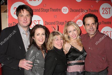 Christopher Evan Welch, Patricia Heaton, Carole Rothman, Anna Camp and Tony Shalhoub