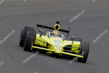 Sarah Fisher Sarah Fisher during practice for the Indianapolis 500 auto race at the Indianapolis Motor Speedway in Indianapolis