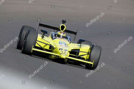 Sarah Fisher Sarah Fisher drives through the first turn during a practice session on the final day of qualifications for the Indianapolis 500 auto race at the Indianapolis Motor Speedway in Indianapolis