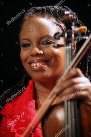 Regina Carter Jazz violinist Regina Carter react during an interview in New York
