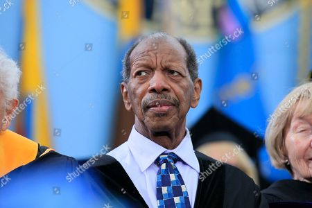 Ornette Coleman Jazz musician Ornette Coleman is pictured before receiving his honorary doctor of music degree at the University of Michigan commencement ceremony in Ann Arbor