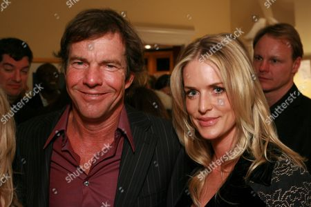 Dennis Quaid and wife Kimberly Buffington