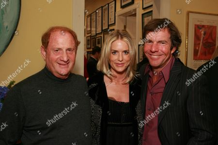 Mike Medavoy, Dennis Quaid and wife Kimberly Buffington