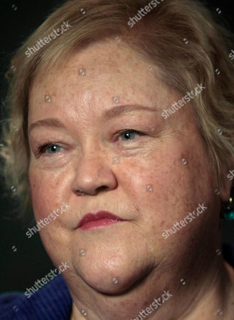 Kathy Kinney Actress Kathy Kinney is seen during an interview, in Los Angeles