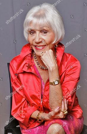 Stock Picture of Rona Barrett Columnist Rona Barrett poses for a photo, in Los Angeles. Barrett runs the Rona Barrett Foundation, a non-profit organization in Santa Ynez, Calif., dedicated to the aid and support of senior citizens