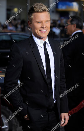 "Stock Image of Chris Egan Chris Egan poses at the premiere of the film ""Letters to Juliet"" in Los Angeles"