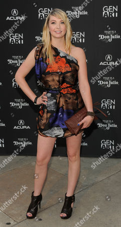 "Jamie Strange Actress Jamie Strange arrives at the premiere of the film ""Mercy"" in Los Angeles"