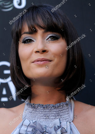 """Wendy Glenn Actress Wendy Glenn poses at the premiere of the film """"Mercy"""" in Los Angeles"""