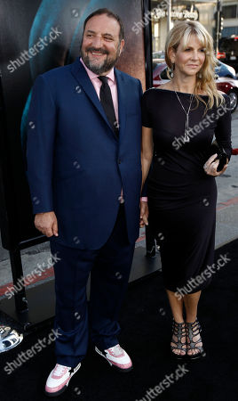 "Joel Silver, Karyn Silver Producer Joel Silver, left, and his wife, Karyn, arrive at the premiere of ""Splice"" in Los Angeles on"