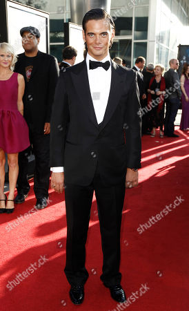 """Theo Alexander Theo Alexander arrives at the premiere for third season of HBO's """"True Blood"""" in Los Angeles on"""