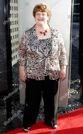 """Charlaine Harris Charlaine Harris arrives at the premiere for third season of HBO's """"True Blood"""" in Los Angeles on"""