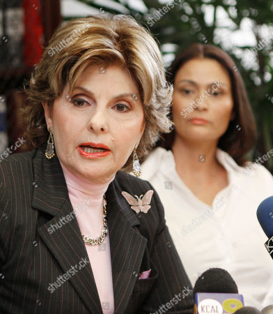 Charlotte Lewis Attorney Gloria Allred speaks for her client, British actress Charlotte Lewis, background right, during a news conference in Los Angeles . Lewis alleges that director Roman Polanski sexually victimized her in Paris when she was 16