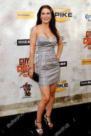 "Stock Photo of Amanda MacKay Actress Amanda MacKay arrives at Spike TV ""Guy's Choice"" awards in Culver City, Calif., on"