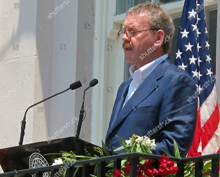 Michael Colgan Michael Colgan, director of the Gate Theatre of Dublin, speaks during the opening ceremonies of the Spoleto Festival USA on Friday, May 28, in Charleston, S.C. The internationally renowned arts festival continues through June 13