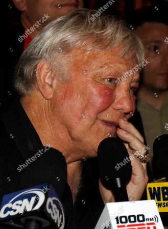 Bobby Hull Chicago Blackhawks great Bobby Hull cries as he talks to the media, in Chicago after the Blackhawks defeated the Philadelphia Flyers 4-3 in Game 6 of the NHL Stanley Cup hockey finals in Philadelphia, to claim the Stanley Cup