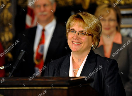 Lorie Skjerven Gildea Minnesota Supreme Court Justice Lorie Skjerven Gildea address a news conference after Gov. Tim Pawlenty announced her appointment as Chief Justice of the court in St. Paul, Minn.Pawlenty also made several other judicial appointments, background