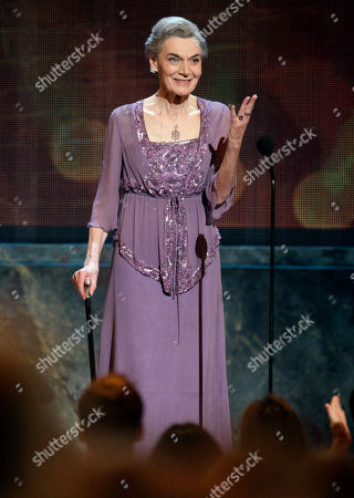 Marian Seldes Actress Marian Seldes receives a standing ovation after being awarded a Special Tony Award for Lifetime Achievement in the Theatre during the 61st Tony Awards, in New York