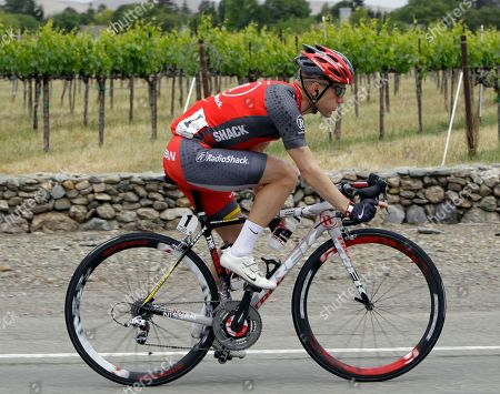Levi Leipheimer Levi Leipheimer rides along vineyards during the fourth stage of the Tour of California cycling race in Livermore, Calif