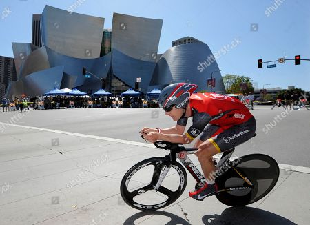 Levi Leipheimer Levi Leipheimer, of the United States, rides through a corner during the seventh stage of the Tour of California cycling race, in Los Angeles