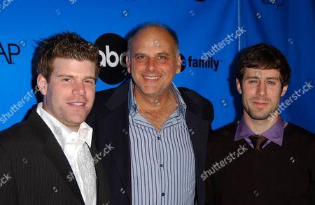 Stephen Rannazzisi, Kurt Fuller and Josh Cooke