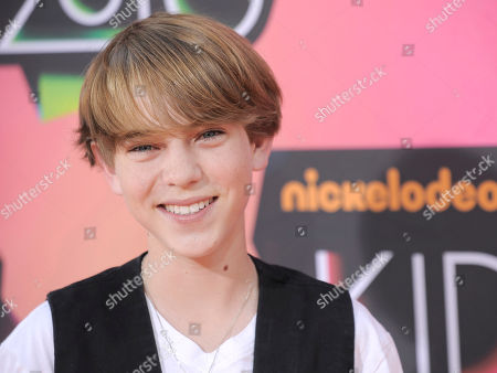 Stock Image of Chase Ellison Chase Ellison arrives at Nickelodeon's 23rd Annual Kids' Choice Awards, in Los Angeles