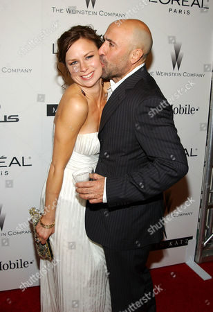 Mary Lynn Rajskub and Carlo Rota