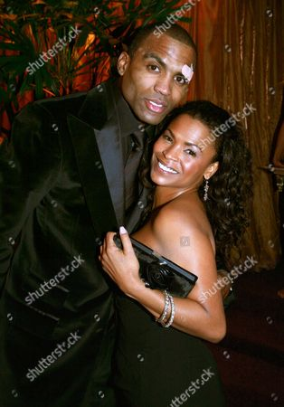 Cuttino Mobley and Nia Long