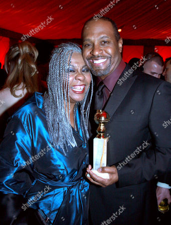 Stock Image of James Pickens Jnr and wife Gina Pickens
