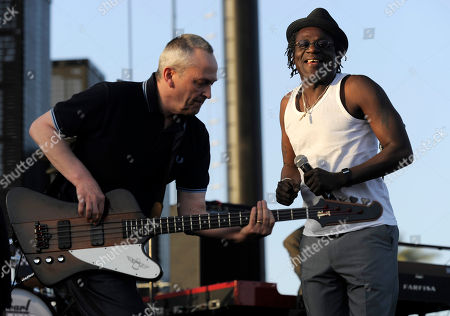 Horace Banter, Neville Staple Horace Banter, left, and Neville Staple of The Specials perform during the first day of the Coachella Valley Music and Arts Festival in Indio, Calif