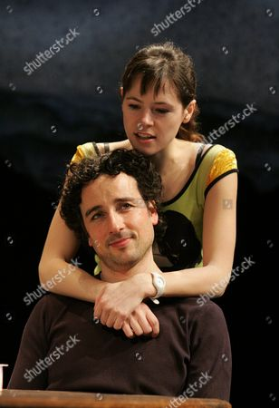 Stock Image of 'There came a gypsy' - Elaine Cassidy ( Louise ) and Aidan McCardle ( Simon )