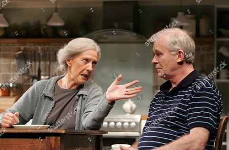 'There came a gypsy' - Eileen Atkins ( Bridget ) and Ian McElhinney( Leo )