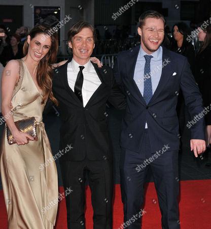 Madeline Mulqueen, Cillian Murphy and Jack Reynor