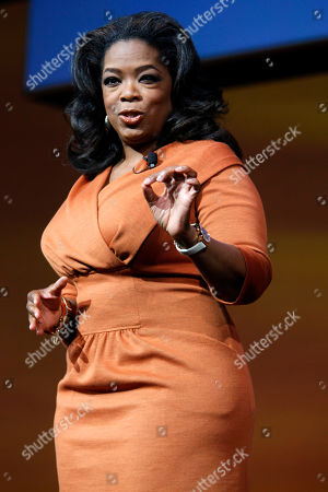 """Oprah Winfrey Oprah Winfrey speaks in New York. Former """"Entertainment Tonight"""" anchor-turned-new age musician John Tesh tells """"Entertainment Tonight"""" he and the 56-year-old Winfrey dated while working in local news in Nashville, Tenn., nearly 40 years ago, confirming one of the reports in the new revealing biography written about Winfrey"""