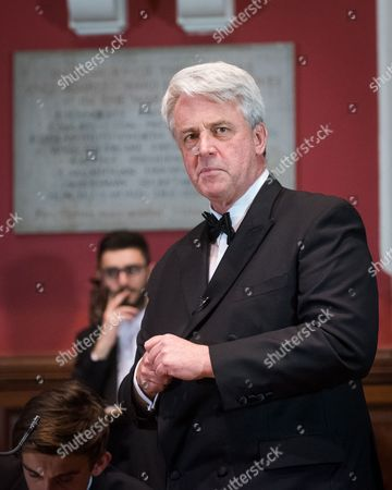 Editorial picture of Lord Andrew Lansley at The Oxford Union, UK - 13 Oct 2016